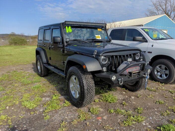 2016 Jeep Wrangler Unlimited Sport Owego NY