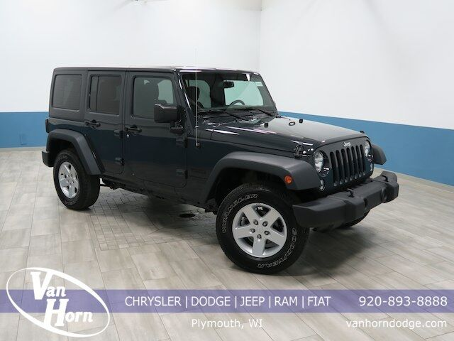 2016 Jeep Wrangler Unlimited Sport Plymouth WI