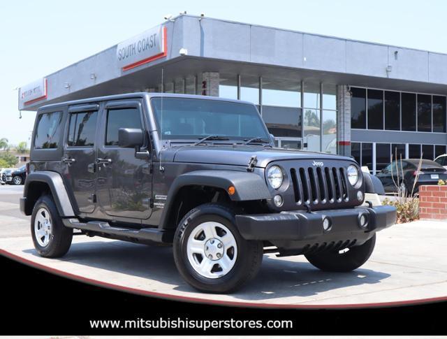 2016 Jeep Wrangler Unlimited Sport RHD Costa Mesa CA