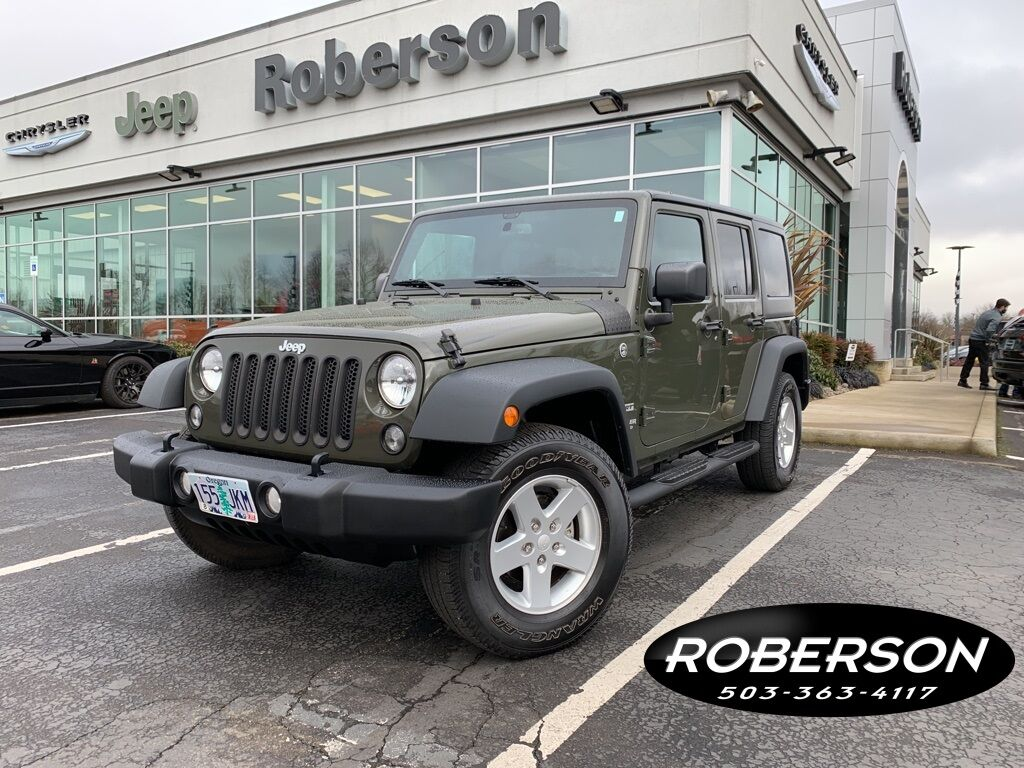 2016 Jeep Wrangler Unlimited Sport Salem OR