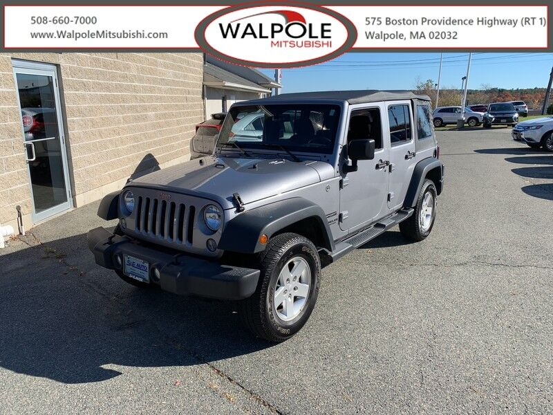 2016 Jeep Wrangler Unlimited Sport Weymouth MA