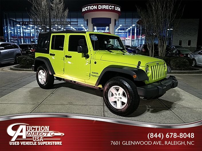 2016 Jeep Wrangler Unlimited Sport Raleigh
