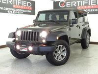 Jeep Wrangler Unlimited UNLIMITED SPORT 4WD TRAIL RATED PREMIUM ALLOY WHEELS TOW PACKAGE FOG LIGHTS 2016