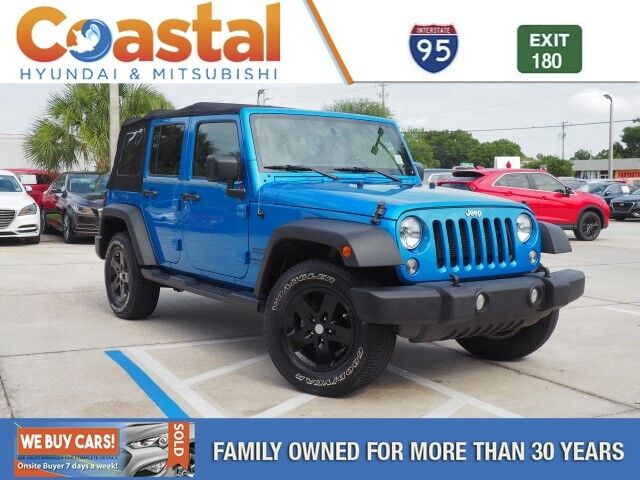 2016 Jeep Wrangler Unlimited Unlimited Sport Cocoa FL