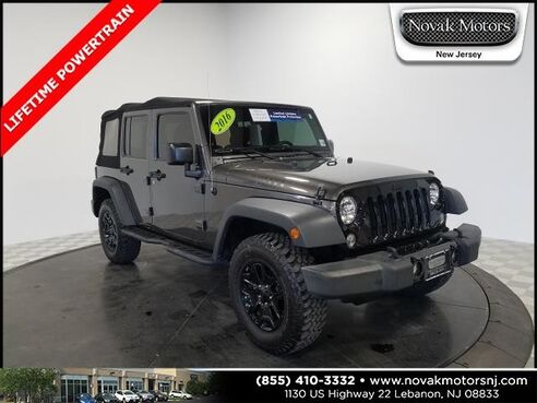 2016_Jeep_Wrangler_Unlimited Willys Wheeler_ Lebanon NJ