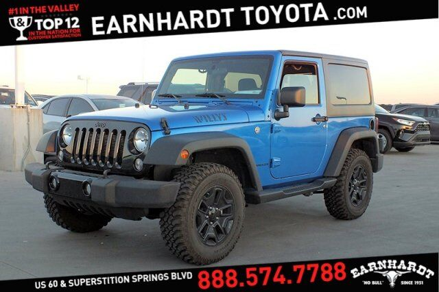 2016 Jeep Wrangler Willys Wheeler 4WD Mesa AZ