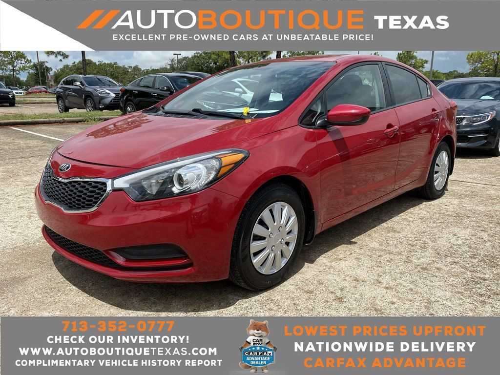 2016 KIA FORTE LX Houston TX