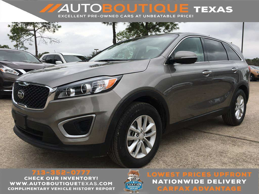 2016 KIA SORENTO L L Houston TX