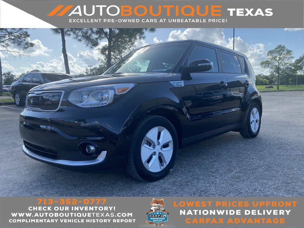2016 KIA SOUL EV PLUS PLUS Houston TX