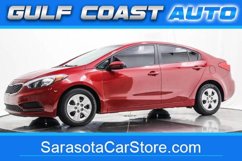 2016_Kia_FORTE_LX SEDAN WARRANTY ONE FL OWNER RUNS GREAT COLD AC !!_ Sarasota FL