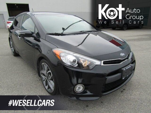 2016 Kia FORTE5 SX 1.6L TURBO! HATCHBACK! +2ND SET OF TIRES! 1 OWNER! NO ACCIDEN Kelowna BC