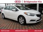 2016 Kia Forte LX Sedan, Remote Keyless Entry, Multi-Function Steering Wheel, In-Dash CD-Player, Bluetooth Technology, Front Bucket Seats, 16-Inch Alloy Wheels,