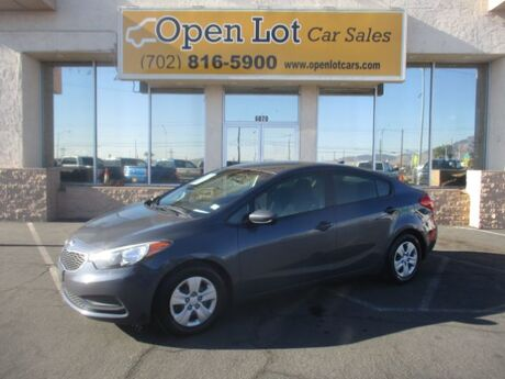 2016 Kia Forte LX w/Popular Package Las Vegas NV