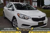 2016 Kia Forte LX+$54/WkBluetoothPwr Windows,Locks,MirrorsClean CP