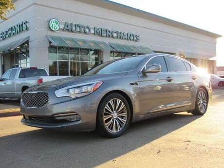 2016 Kia K900 Luxury V8 ****LUXURY VIP PACKAGE****   5.0L 8CYL AUTOMATIC, LEATHER SEATS, NAVIGATION SYSTEM Plano TX