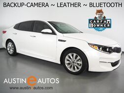 2016_Kia_Optima EX_*BACKUP-CAMERA, LEATHER SEATING, HEATED SEATS, HEATED STEERING WHEEL, PUSH BUTTON START, ALLOY WHEELS, BLUETOOTH PHONE & AUDIO_ Round Rock TX