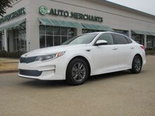 2016_Kia_Optima_LX 1.6L 4CYL AUTOMATIC, CLOTH SEATS, BACKUP CAMERA, BLUETOOTH CONNECTIVITY, PUSH BUTTON START_ Plano TX