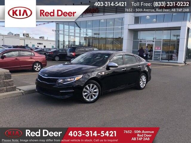 2016 Kia Optima LX, Memory Seat, Heated Steering Wheel & Front Seats Red Deer AB