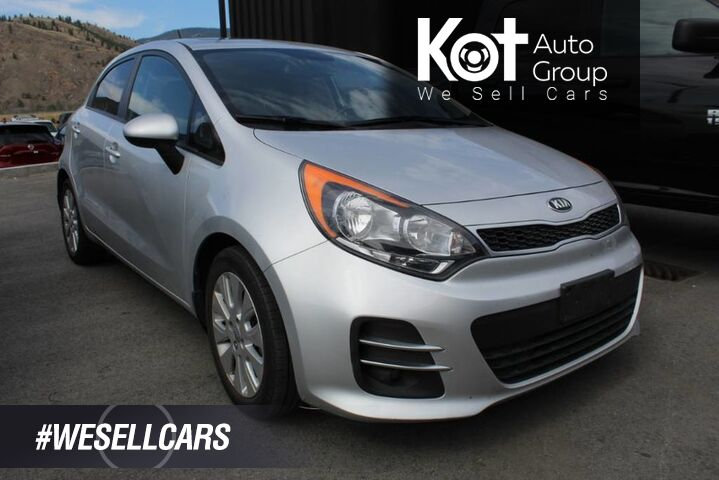 2016 Kia Rio EX, Great on Fuel, Low Km's Kelowna BC