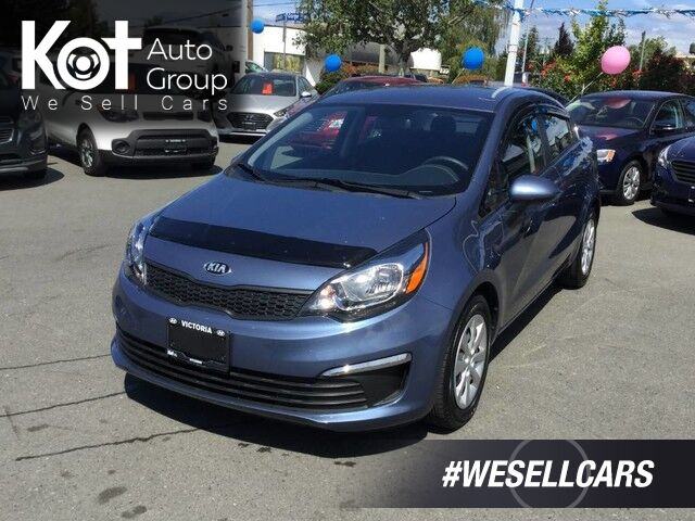 2016 Kia Rio LX+ No Accidents! Low KMS! Manual Transmission Victoria BC