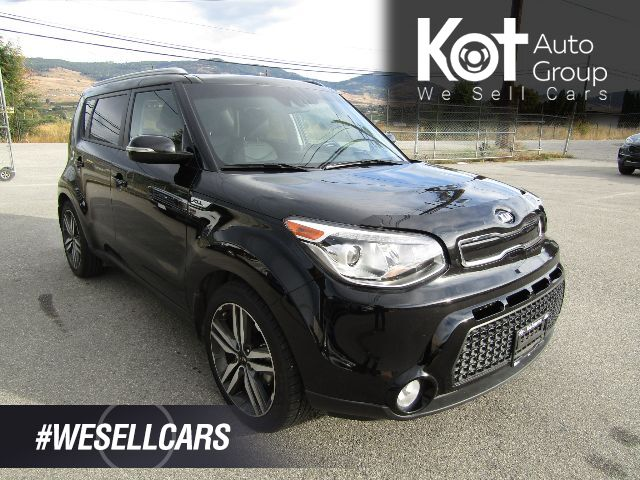 2016 Kia SOUL SX LUXURY! FULL LOAD! LEATHER! PANORAMIC ROOF! NAVIGATION!1 OWNER! NO ACCIDENTS! BACKUP CAM! BLUETOOTH! HEATED SEATS! Kelowna BC