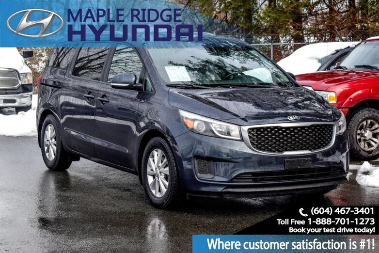 2016 Kia Sedona 4door Wagon Heated Seats, Backup Camera, Third Row Seating Maple Ridge BC