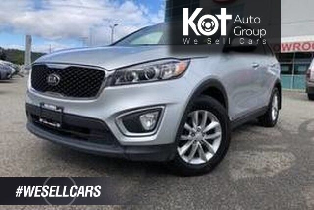 2016 Kia Sorento 2.0L EX TURBO! AWD! TONS OF SPACE! GREAT PRICE! Kelowna BC