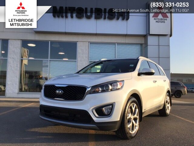 2016 Kia Sorento 2.0L TURBO EX, FULLY RECONDITIONED,HEATED FRONT SEATS, LEATHER, DRIVERS MEMORY SEAT WITH LUMBAR SUPPORT, ACCIDENT FREE! 2.0L Turbo EX Lethbridge AB