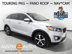 2016_Kia_Sorento EX_*NAVIGATION, PANORAMA MOONROOF, BLIND SPOT ALERT, BACKUP-CAMERA, LEATHER, HETAED SEATS, INFINITY AUDIO, POWER LIFTGATE, PUSH BUTTON START, BLUETOOTH_ Round Rock TX