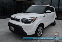 2016_Kia_Soul_/ Convenience Pkg / Automatic / Power Mirrors Windows & Locks / Bluetooth / Back Up Camera / Cruise Control / 30 MPG / Only 15k Miles / Aluminum Wheels / 1-Owner_ Anchorage AK