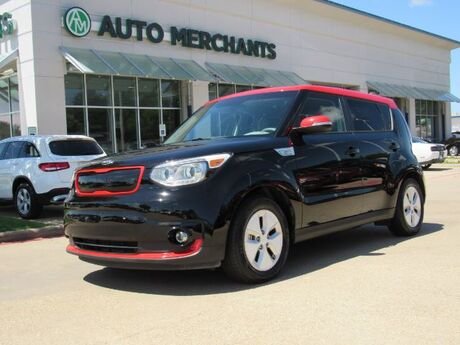 2016 Kia Soul EV + LEATHER, NAVIGATION, HTD/CLD FRONT SEATS, CLIMATE CONTROL, HTD STEERING WHEEL, KEYLESS START Plano TX