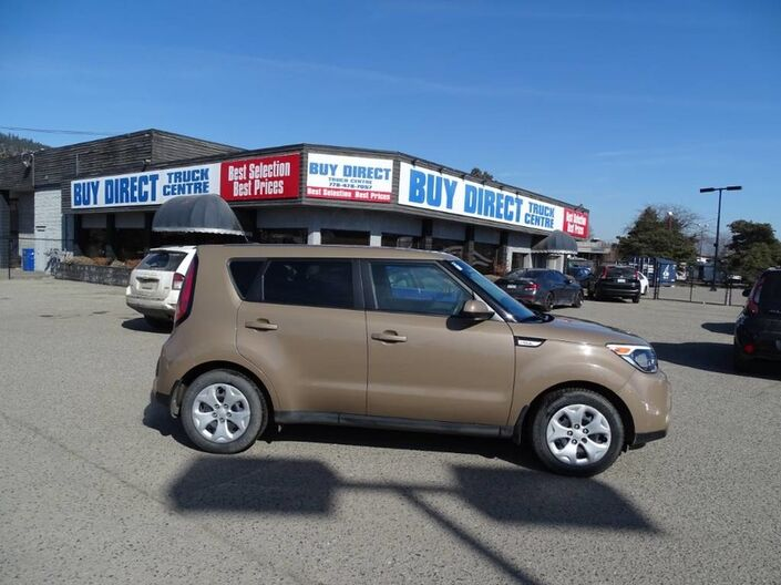2016 Kia Soul LX Handsfree/ Bluetooth, Cappuccino Brown, Reliable and Fuel Efficient Penticton BC