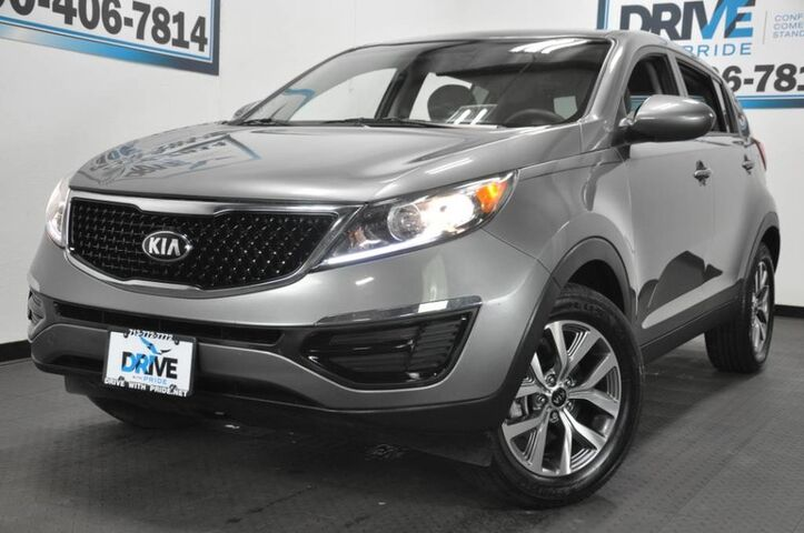 2016 Kia Sportage LX Dual front airbags · Front side airbags · Side curtain airbags: front, rear · Side-curtain airbag rollover sensor Houston TX