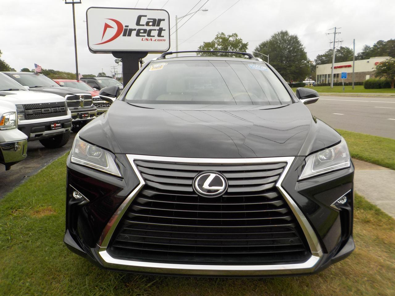 2016 LEXUS RX 350, LEATHER, SUNROOF, HEATED/COOLED SEATS, BACKUP CAM, PARKING SENSORS, LOW MILES, 1 OWNER, CLEAN! Virginia Beach VA