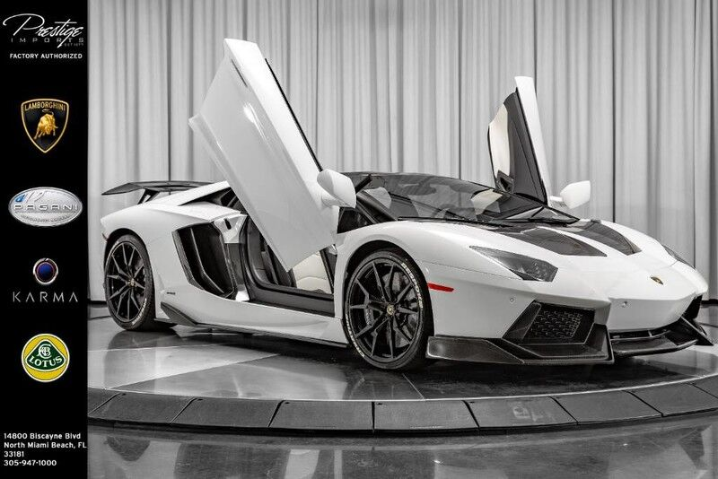 2016 Lamborghini Aventador LP 700-4 North Miami Beach FL