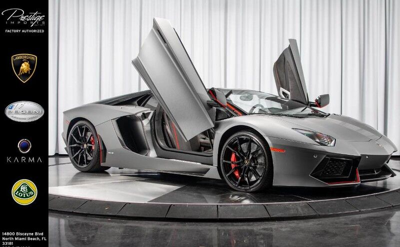 2016_Lamborghini_Aventador_LP 700-4 Pirelli Edition_ North Miami Beach FL