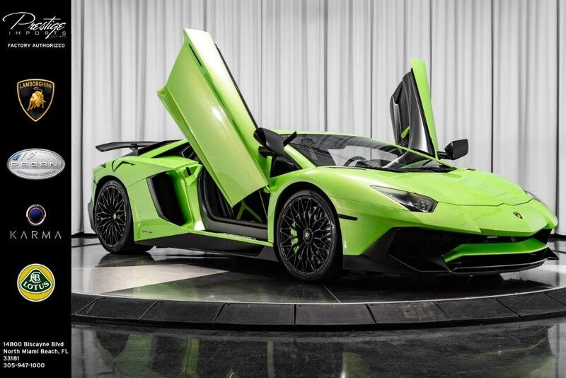 2016_Lamborghini_Aventador_LP 750-4 Superveloce_ North Miami Beach FL