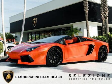 Lamborghini Aventador Roadster LP 700-4 2016