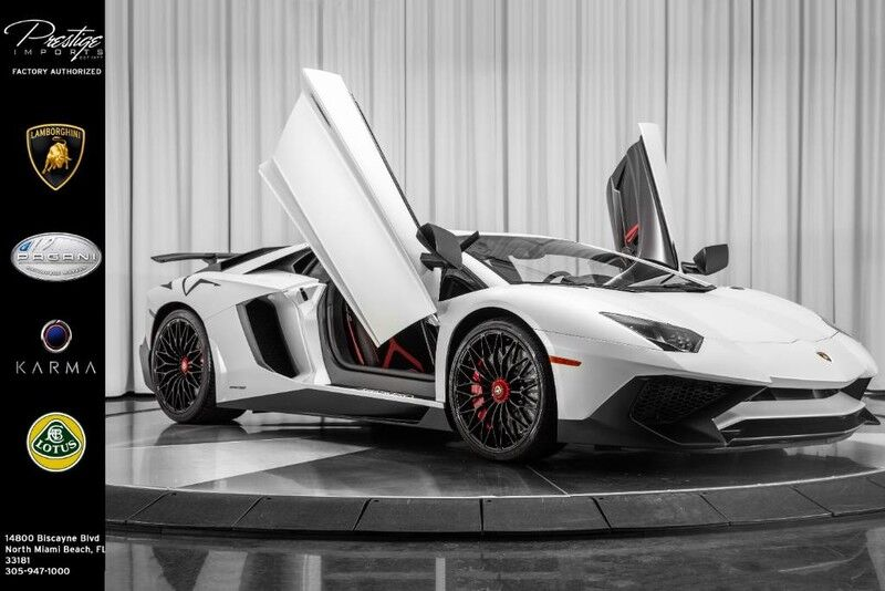 2016_Lamborghini_Aventador_SV_ North Miami Beach FL