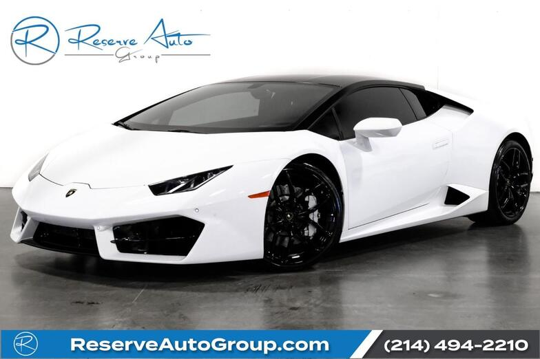2016 Lamborghini Huracan LP 580-2 Clear Bonnet Susp Lifter Branding Pkg The Colony TX