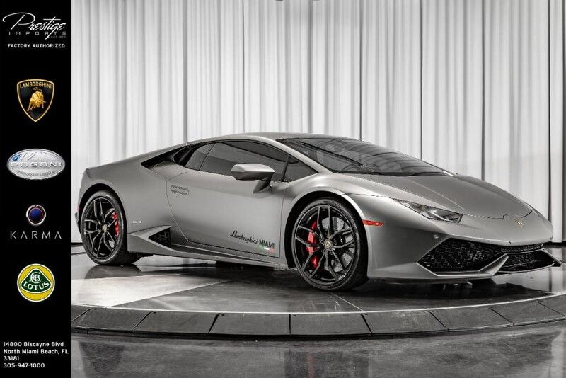 2016_Lamborghini_Huracan_LP 610-4_ North Miami Beach FL