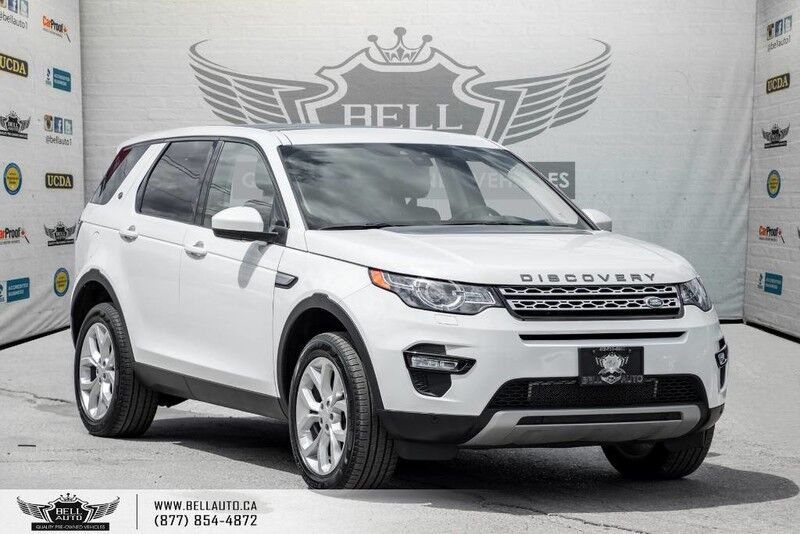 2016 Land Rover Discovery Sport HSE, AWD, NAVI, BACK-UP CAM, PANO ROOF, BLIND SPOT