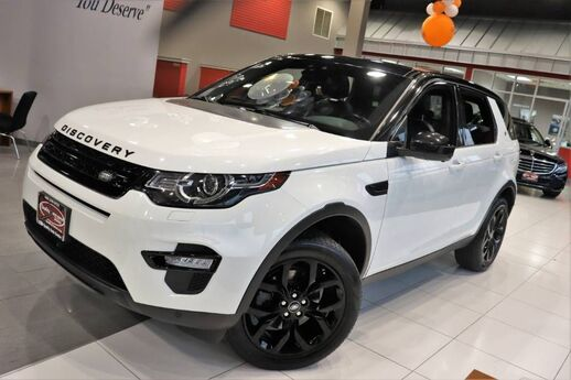 2016 Land Rover Discovery Sport HSE Audio Upgrade Vision Assist Climate Comfort Drivers Assist Package 19 Black Design Package Navigation Sunroof Springfield NJ