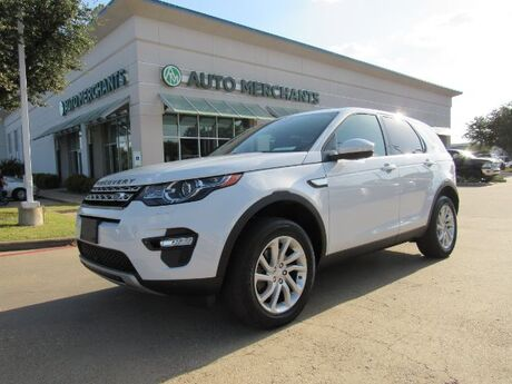 2016 Land Rover Discovery Sport HSE LEATHER, 3RD ROW SEATING, PANORAMIC SUNROOF, HTD/CLD FRONT STS, UNDER FACTORY WARRANTY Plano TX