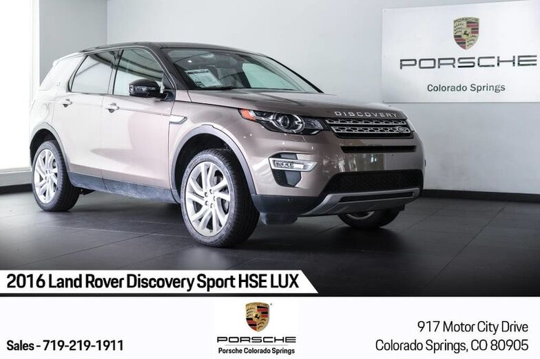 2016 Land Rover Discovery Sport HSE LUX Colorado Springs CO