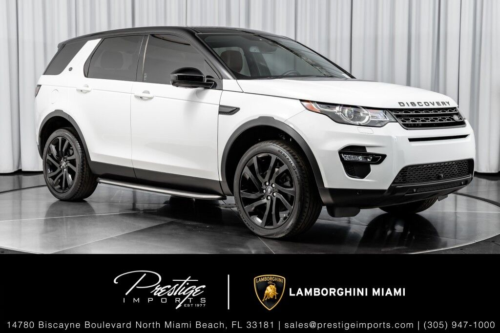 2016_Land Rover_Discovery Sport_HSE LUX_ North Miami Beach FL