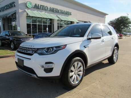 2016 Land Rover Discovery Sport HSE LUX Plano TX