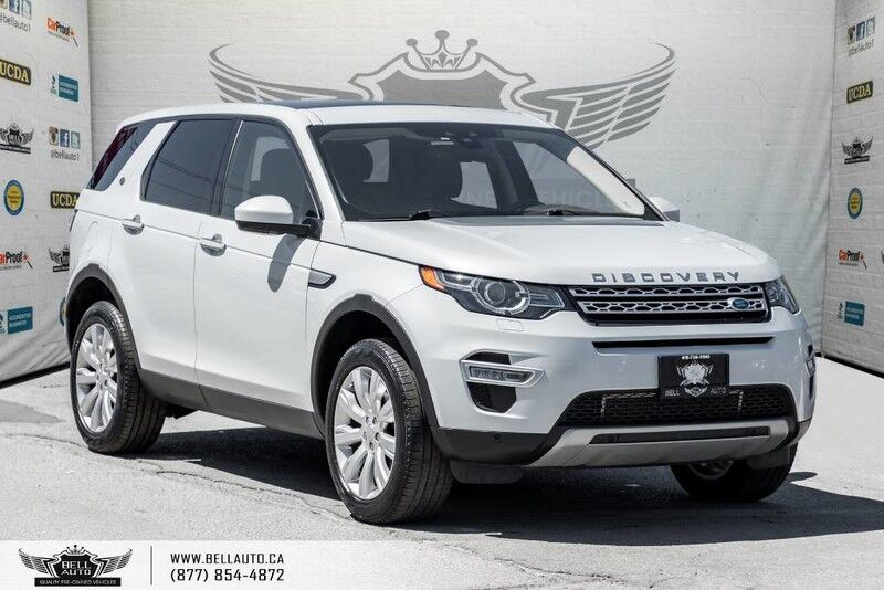 2016 Land Rover Discovery Sport HSE LUXURY, AWD, NO ACCIDENT, BACK-UP CAM, PANO ROOF