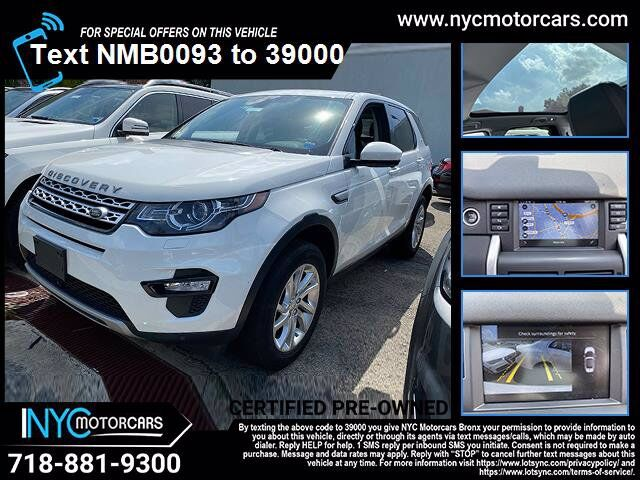 2016 Land Rover Discovery Sport HSE Navigation Bronx NY