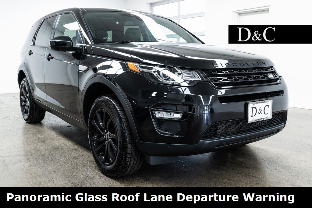 2016 Land Rover Discovery Sport HSE Panoramic Glass Roof Lane Departure Warning Portland OR